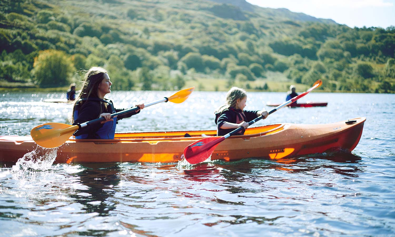 Or if paddling is your thing there are countless lakes and rivers for kayaking and canoeing